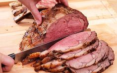 Ingredients      1 prime rib roast with or without bone (any size)      Garlic powder      Salt      Pepper          Directions                 	Preheat oven to 550F degrees.   	Make a rub of salt, pepper and garlic powder and apply to meat. Place meat in a shallow roasting pan