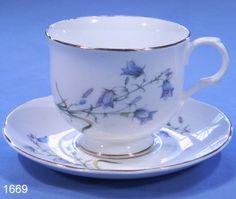 Sadler Wellington Bone China Tea Cup and Saucer