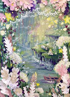 Secret Garden Garden Painting, Im In Love, Faeries, Art Pieces, Advent, Mood, Fairies, Artworks, Art Work