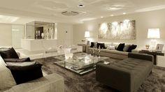 Construindo Minha Casa Clean: Consultoria da Leitora: Sala de Estar e Jantar - Posição dos Móveis!
