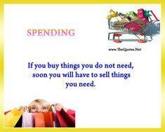 Spending; Warren Buffet