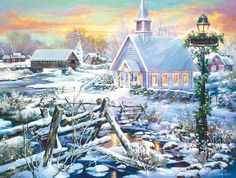 Perfect Peace - 500 piece jigsaw puzzle. Finished size: 18 x 24. Artist: Sandra Bergeron. Released January 2013.Sunsout puzzles are 100% made in the USAEco-friendly soy-based inksRecycled boardsNot sold in mass-market stores