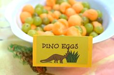 PlaceOfMyTaste: DINOSAUR THEMED PARTY { ...and FREE printables }
