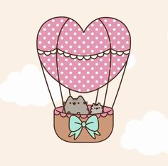 FREEBIE: Pusheen Phone Wallpaper for Android & iPhone pusheen wallpaper Kawaii Pusheen, Chat Pusheen, Pusheen Love, Kawaii Cat, Cat Wallpaper, Kawaii Wallpaper, Valentines Wallpaper Iphone, Pusheen Stormy, Android