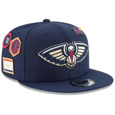 the latest eb840 72856 Youth New Orleans Pelicans New Era Navy 2018 NBA Draft 9FIFTY Adjustable Hat,  Your