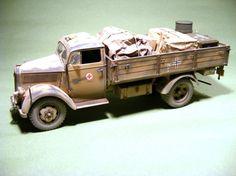 Opel Blitz, DAK Medical Supplies Truck