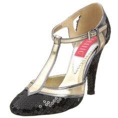 Amazon.com: Bordello By Pleaser Women's Cabaret-01 T Strap Pump: Pleaser: Shoes - $34.95