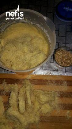 Kadayifli Revani (yok böyle muhteşem bir lezzet) Biscotti, Pancakes, Deserts, Meat, Chicken, Breakfast, Food, Tiramisu, Morning Coffee