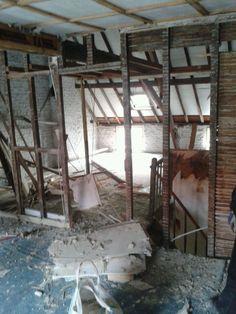 zolder (afbraak slaapkamer); 4