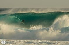 Arthur Del Bernard : Big swell surf session near Saint-Leu, Reunion Island.