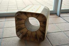 BoxStool(f.Labo) by HisashiIMAI.