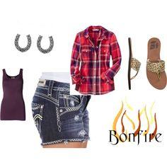 Summer Bonfire outfit