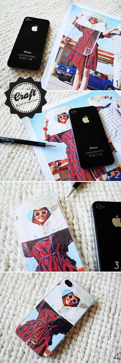 Cool Crafts: DIY - How to make a picture iPhone case DIY iphone case