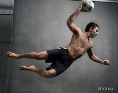 Gianluigi Buffon, Italy.  Vanity Fair's World Cup Soccer Stars