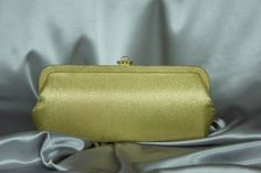 Oversize clutch, gold lame' handbag, gold night bag, 50's formal bag, gold metallic purse, classic purse, gold formal clutch.