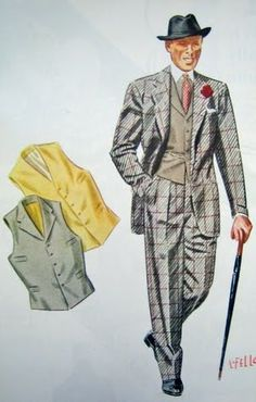 1920 patterned suits - Google Search