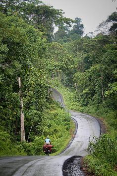 Bicycle Touring East Kalimantan, Indonesia (Borneo) by worldbiking.