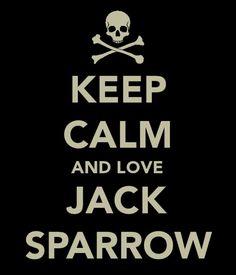It's actually CAPTAIN Jack Sparrow