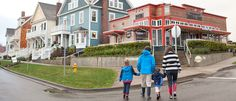 The Mill 109 and downtown Seabrook Washington