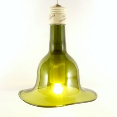 humph, how the hell do you do this? Light fixtures ~ Recycling wine bottles