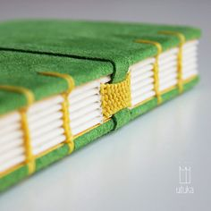 ALGIR. coptic-stitched journal / sketchbook by uituka