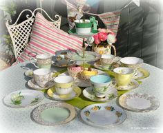 English Fine Bone China Vintage Tea Sets, Antique and Eclectic Tea Service Sets to buy UK.