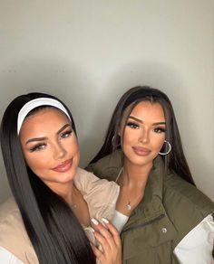 Dope Makeup, Glam Makeup, Hair Makeup, Work Makeup Looks, Waist Length Hair, Preety Girls, Chocolate Hair, Brown Hair Balayage, Long Black Hair