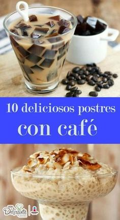 10 deliciosos postres con café que tienes que probar en la vida-Atıştırmalık tarifler Köstliche Desserts, Delicious Desserts, Dessert Recipes, Yummy Food, Mexican Food Recipes, Sweet Recipes, Truck Cakes, Coffee Recipes, Yummy Drinks