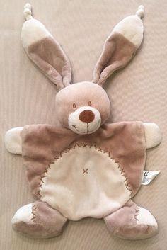 Security Blanket, Bunny Rabbit, Blankets, Toy, Brown, Kids, Children, Blanket, Brown Colors