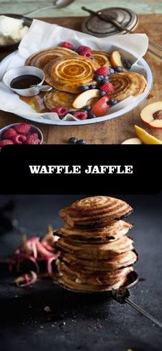 Winter hits the sweet spot with a delicious waffle jaffle! It's also great to make on the braai. Camping Recipes, Camping Meals, Waffles, Baking, Breakfast, Winter, Sweet, Shop, Desserts