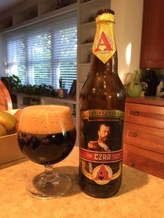Avery Czar Imperial Stout:  Day 339: Avery Czar Imperial Stout from Avery Brewing Company. Style of beer is 'Russian Imperial Stout'. ABV is 8.5%.   Read more at http://www.beerinfinity.com/beer-of-the-day-avery-czar-imperial-stout/.