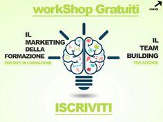 Workshop gratuiti per società di formazione e aziende - marketing della formazione - il team building