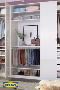 Your-drobe. The IKEA Wardrobe Event is on now until June 25th, with 15% off all wardrobes.