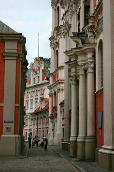 Poznan Poland, widok na Farę od ul.Gołębiej [fot.Olgierd Rożycki]