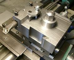 Herbert Zellhuber - Custom made QCTP and boring tool holder for lathe