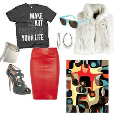 """make art your life"" by c-felice on Polyvore"