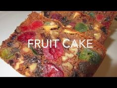 A Christmas cake that dates back to ancient Rome! Deronda demonstrates how to make this modern America FRUIT CAKE. loaded with an assortment of dried fruits, nuts and a splash… Seafood Recipes, New Recipes, Holiday Recipes, Cake Recipes, Cooking Recipes, Favorite Recipes, Holiday Treats, Christmas Treats, Christmas Recipes