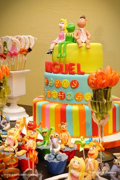 The Muppets Cake.