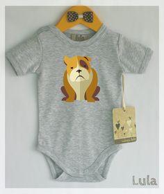 Hey, I found this really awesome Etsy listing at https://www.etsy.com/listing/211891421/bulldog-baby-clothes-bulldog-print-many