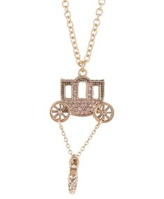Remember the Day with this Cinderella necklace - for you or your Maidens...