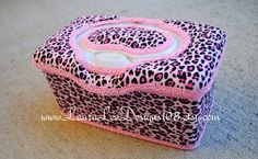 Pink Cheetah or Leopard Print with Pink Trim by LauraLeeDesigns108, $16.99