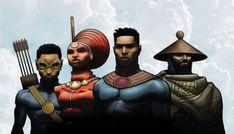 Nigeria's Comic Republic creates African superheroes