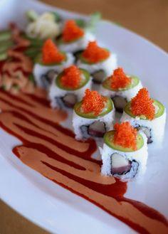 Benkay Signature Rolls - Imgur #Sushi #Sushimi