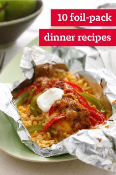 7 Foil-Pack Dinners – These foil-pack dinner recipes are easy to make, cook quickly, and reduce your cleanup time. From Foil-Pack Chicken & Broccoli to Foil-Pack Fish Florentine, there's something for everyone in this tasty collection. Bonus: All seven recipes are ready to enjoy in less than an hour.