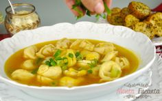 Carne, Macaroni And Cheese, Ethnic Recipes, Food, Baked Onions, Caldo De Pollo, Tasty Food Recipes, New Recipes, Soups