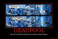 It's just come to my attention that Deadpool has a thing for Bea Arthur. I am suddenly vastly more interested in Deadpool than I ever was before.