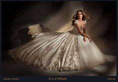 Amalia Carrara A05 In Stock Amalia Carrara 305 In Stock Prom Gowns, Wedding Gowns and Formal Wear - Celestial Brides