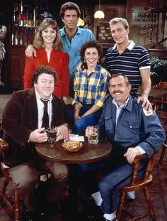 Cheers:  This show I also use to watch for a  while, but just like Rosanne I give it a 2 thumbs down.
