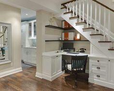 Great basement office idea