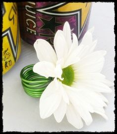 white daisy ring for prom by @cactusflower #prom #corsage